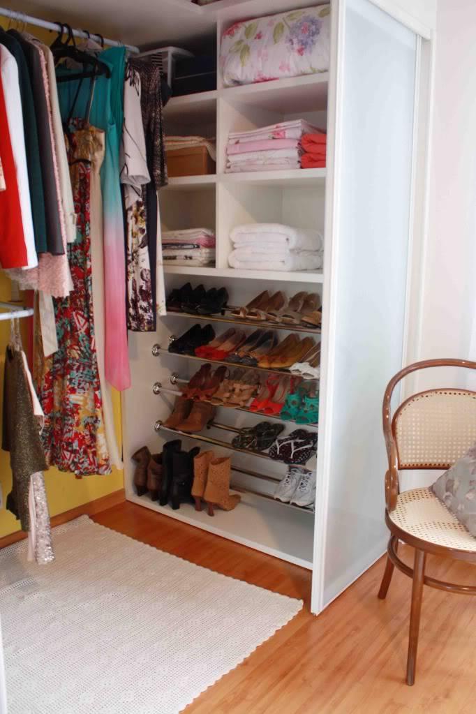 closet pequeno bem planejado