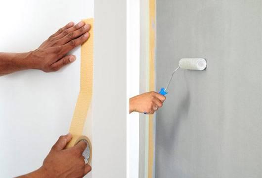 pintura de parede proteção como pintar uma parede