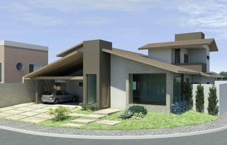 Fachadas modernas com design único