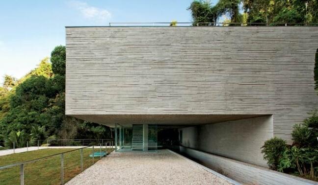 Fachadas modernas com revestimento