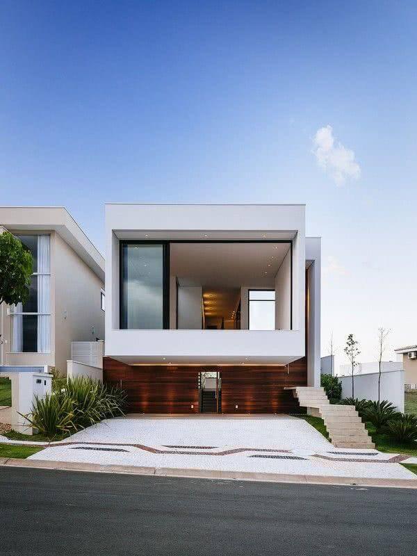 Fachadas modernas branca