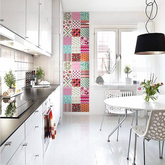 foto 2 Cozinha Colorida azulejos coloridos