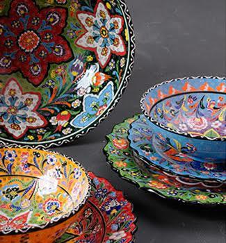 foto 5 Cozinha Colorida porcelanas coloridas