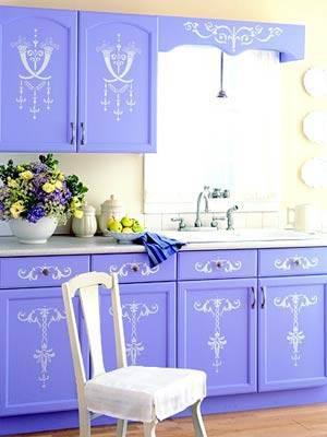 foto 7 Cozinha Colorida armario azul