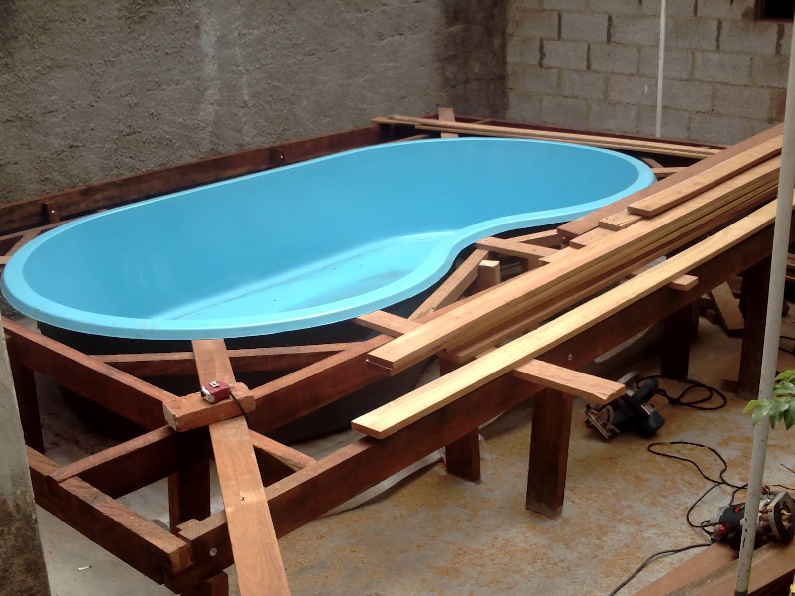 30 fotos de piscina de fibra prepare se para o ver o - Piscinas de montar ...