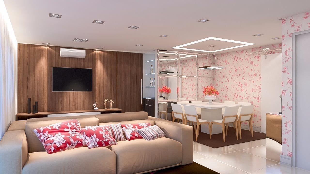 tapetes para sala de estar mesa branca gabriella oliveira da ponte 111432