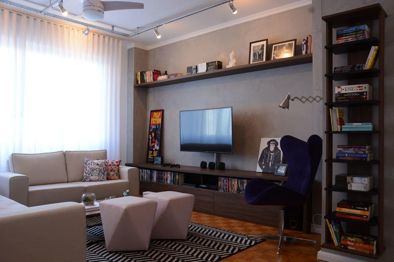 tapetes para sala geometrico preto e branco nathalia bilibio 143189