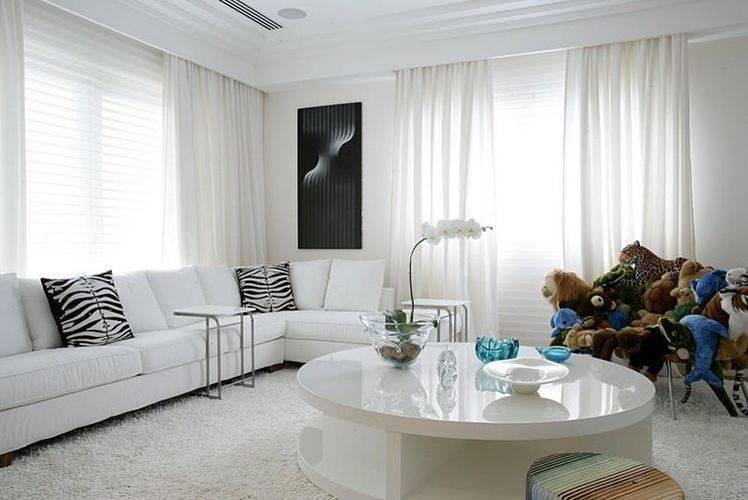 Como escolher certo entre os modelos de cortinas for Cortinas para sala de estar