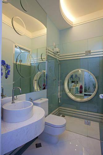 44 Banheiros Modernos + Dicas para Reforma -> Banheiros Modernos Claros