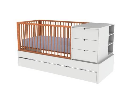 2 - Berço encanto - Sleeeper Móveis para Quarto de Bebê