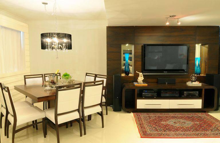 40 painel para tv que deixam qualquer sala linda for Salas clasicas modernas