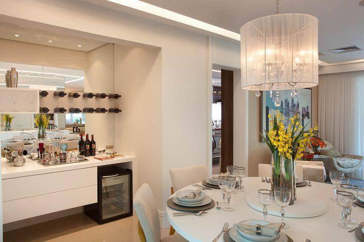 Como Decorar Buffet Sala De Jantar ~ 15 Modelos de Buffet para Sala de Jantar + Dicas Essenciais