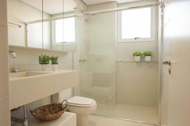 44 Banheiros Modernos + Dicas para Reforma -> Banheiro Moderno Com Box
