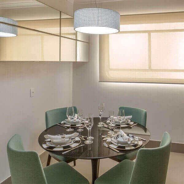 Lustre para sala pequena