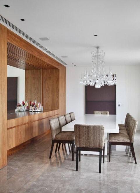 Lustres para sala clássico Projeto de A1 Arquitetura