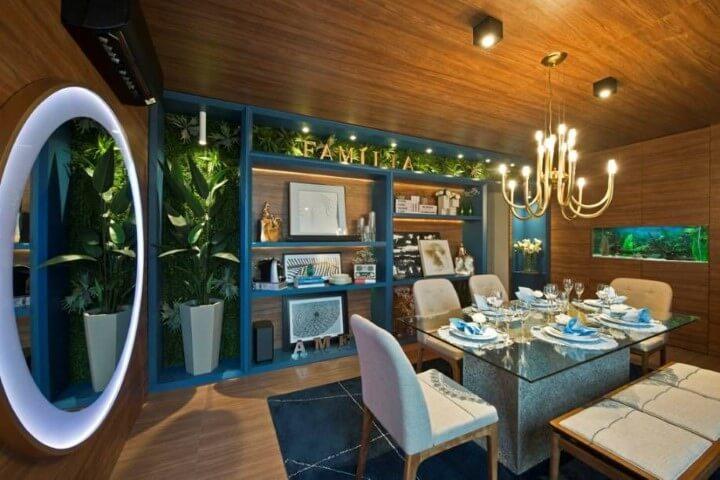 Lustres para sala estilo candelabro Projeto de Casa Cor Ceará 17