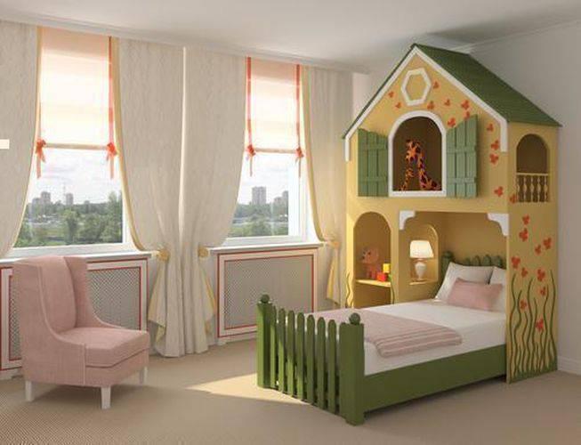 24634 cortinas para quarto de menina