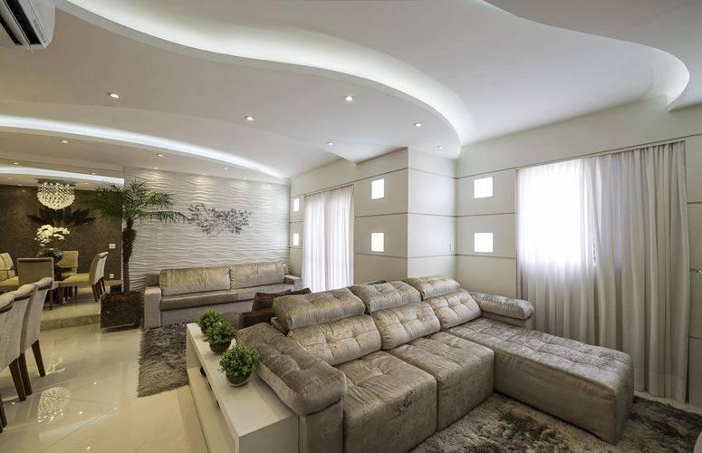 Como escolher um sof com chaise para sala de estar for Sala de estar neutra