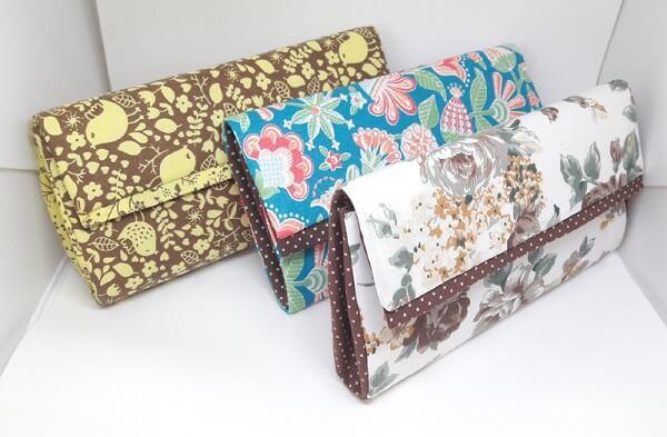 Forme lindas carteiras com caixa de leite