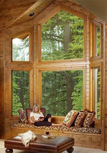 casas de madeira - casa de campo de madeira