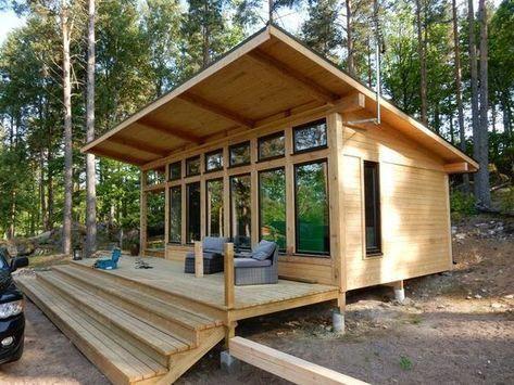 casas de madeira - casa de madeira crua