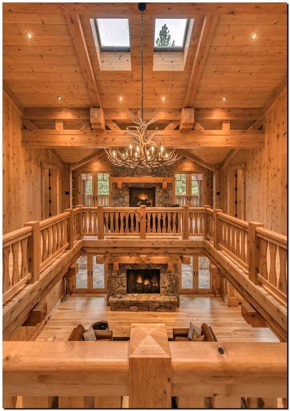 casas de madeira - casa inteiramente de madeira