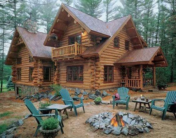 casas de madeira - casa rústica de madeira