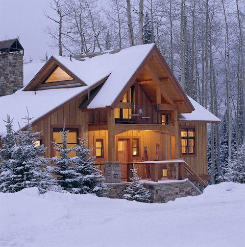 casas de madeira - chalé de madeira
