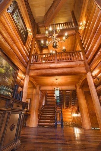 casas de madeira - corredor de casa de madeira