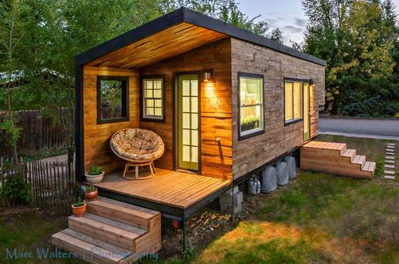 casas de madeira - mini casa de madeira