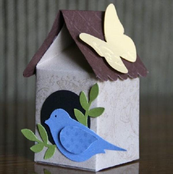 Decore sua casa com enfeites feitos artesanato com caixa de leite