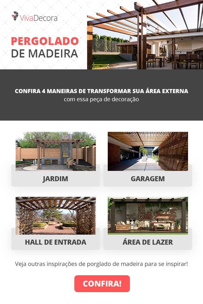 Infográfico - Pergolado de Madeira