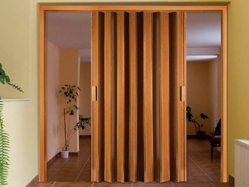 porta sanfonada dupla