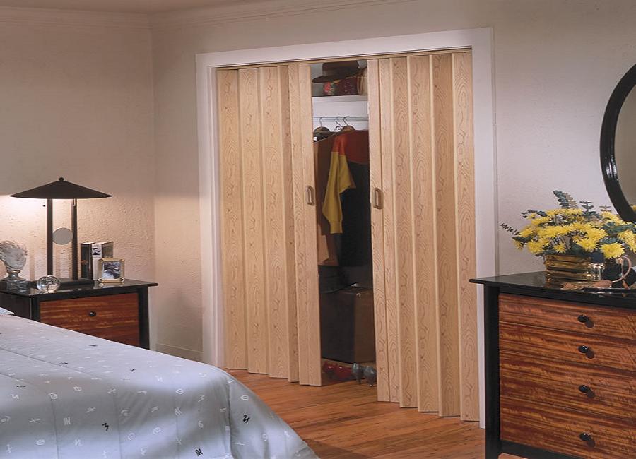 porta sanfonada no closet