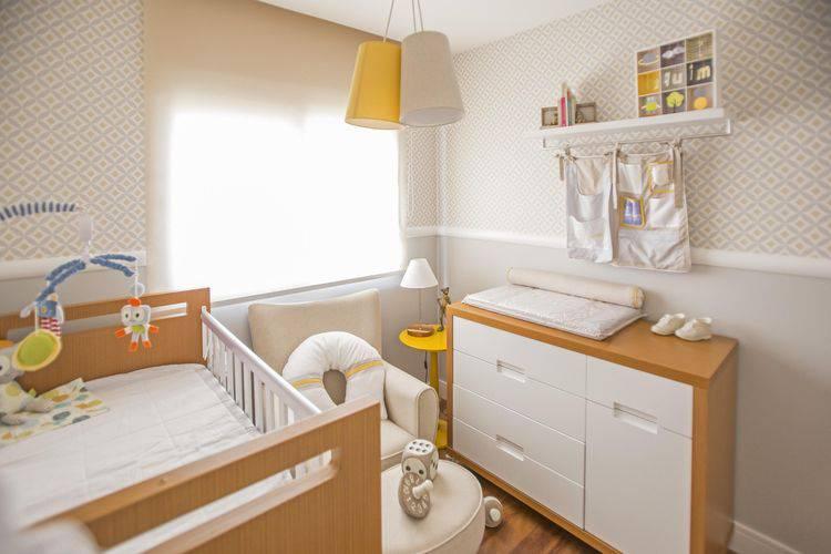 43495- Papel de parede para quarto de bebê neutro cinza-investir-decor