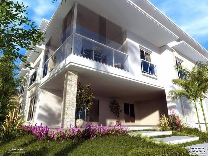 Casas bonitas libre de derechos foto de casa pequea de for Casas modernas fachadas bonitas
