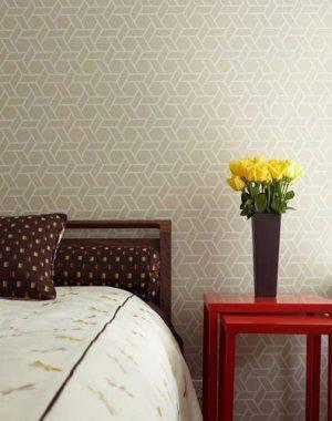 68645- Decoração com papel de parede para quarto simples -patricia martinez