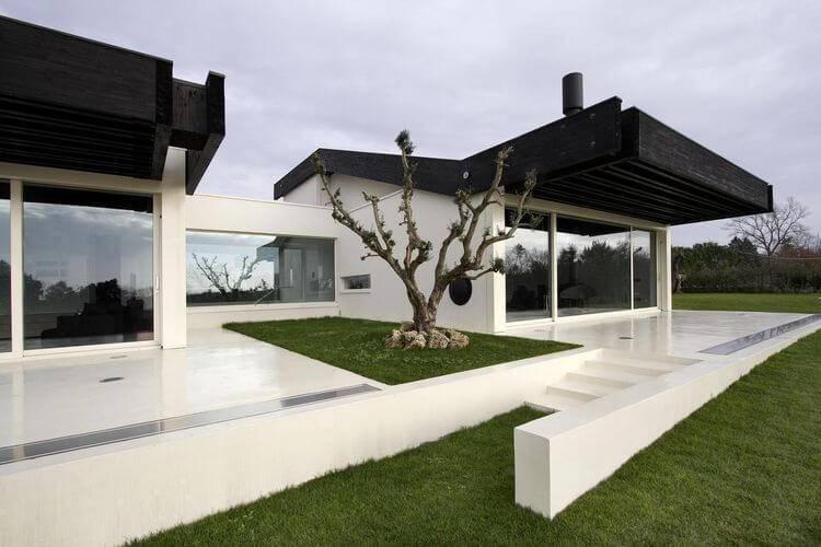 8595- casas bonitas modernas fachada -ldaimda