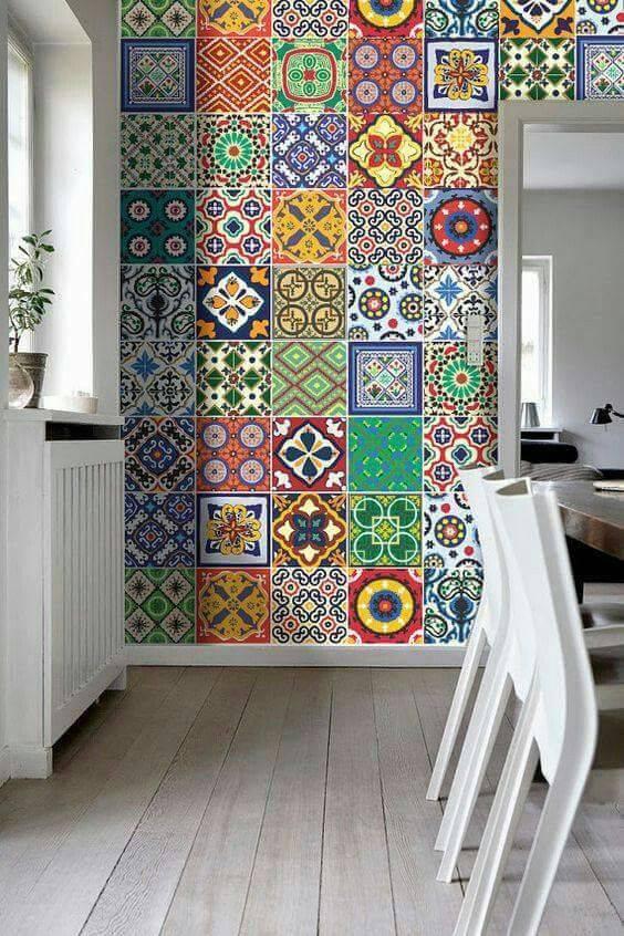 Como usar adesivo para azulejo na sua decora o 43 imagens - Pegatinas para azulejos ...