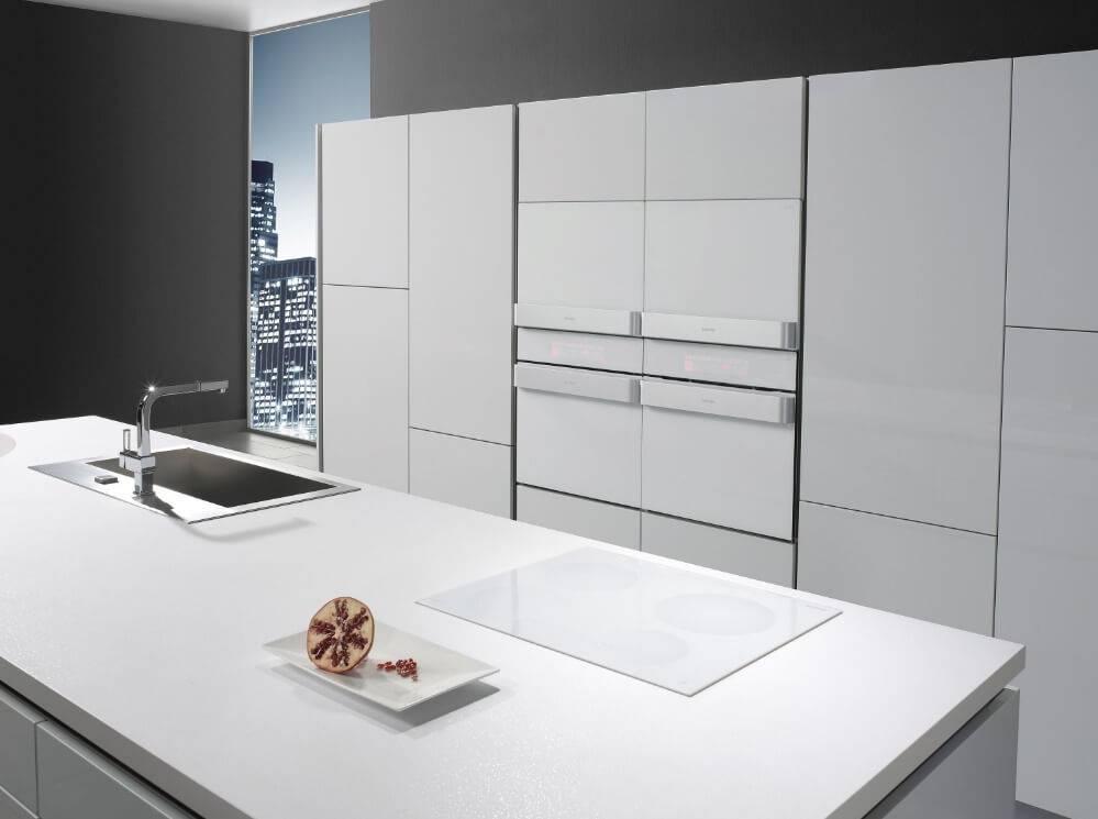 cozinhas modernas 8 dicas e 40 imagens para te inspirar. Black Bedroom Furniture Sets. Home Design Ideas