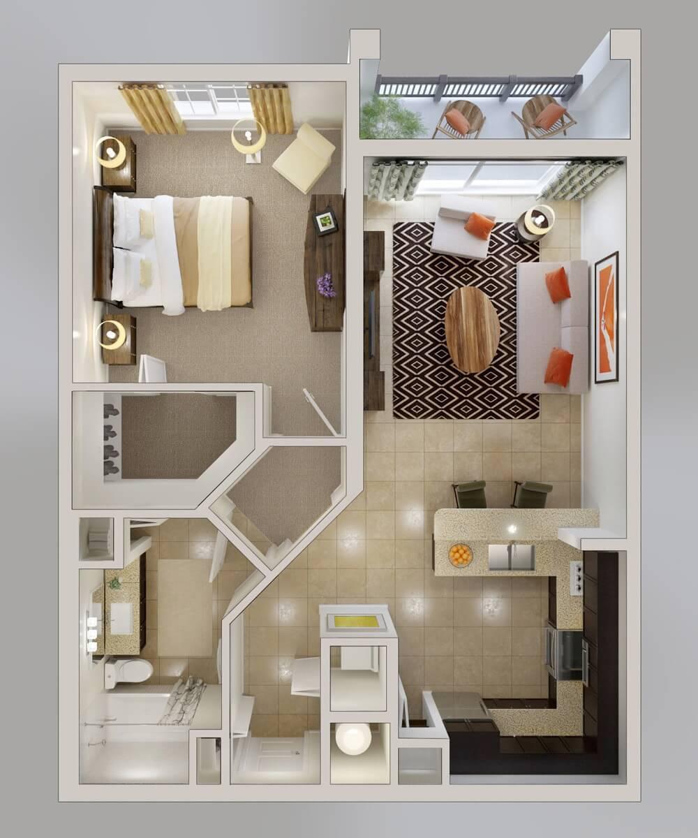 50 inspira es de plantas de casas para seu projeto for Interior design services plano