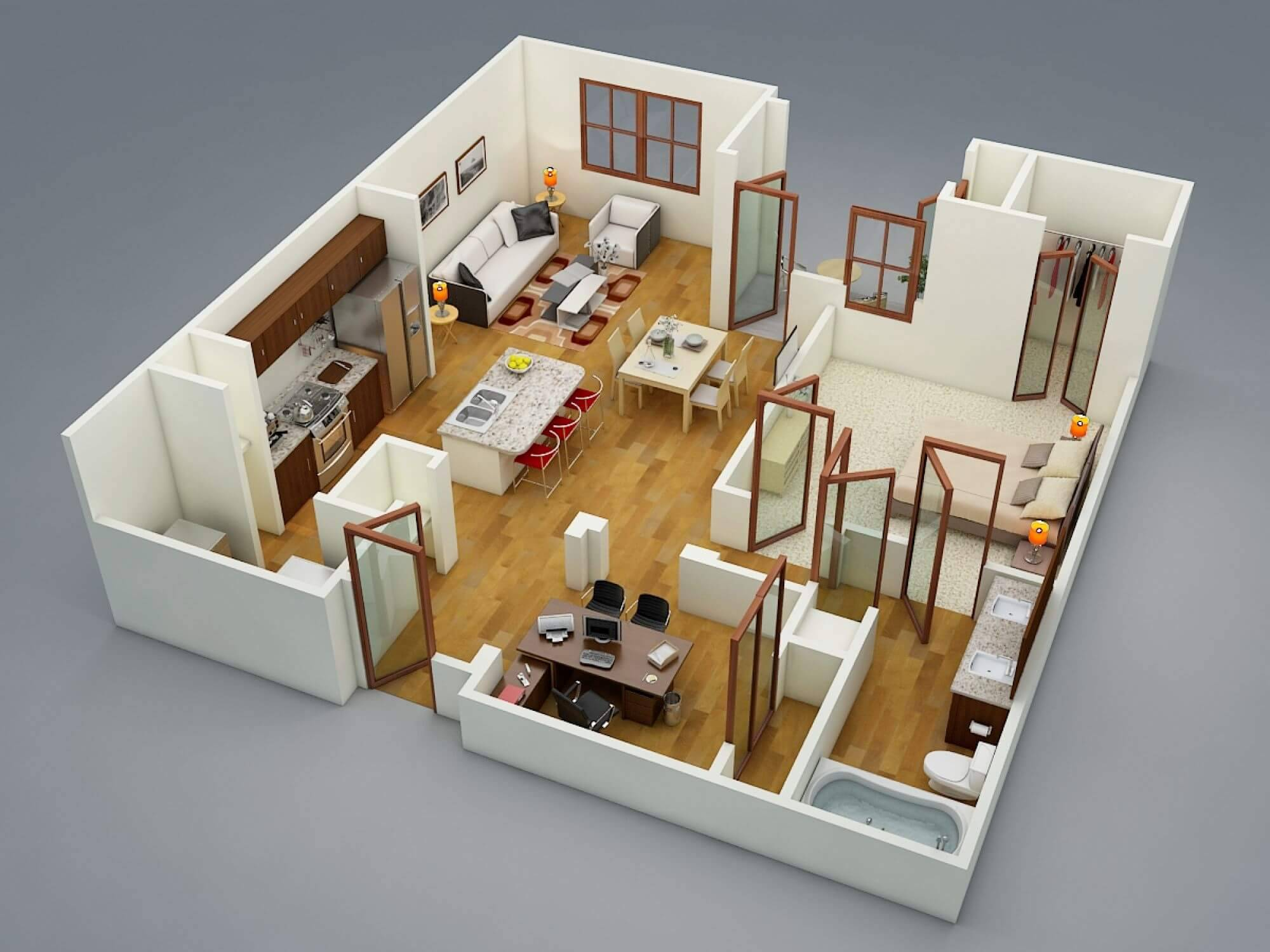 50 inspira es de plantas de casas para seu projeto for 10 meter frontage home designs