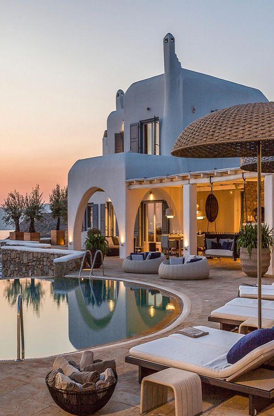 Casas bonitas com piscina