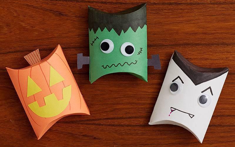 diy decoração de halloween rolo de papel