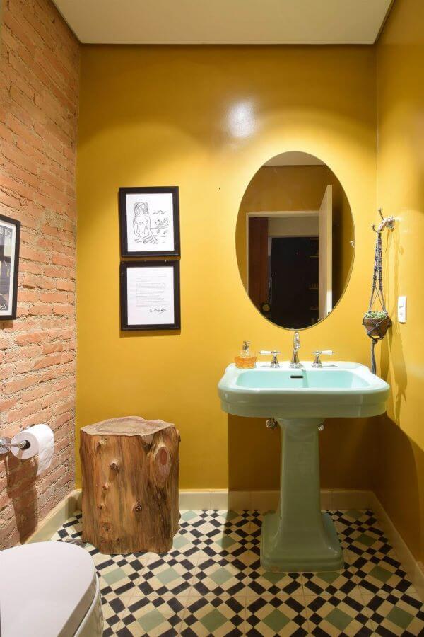 Reforma de banheiro moderno