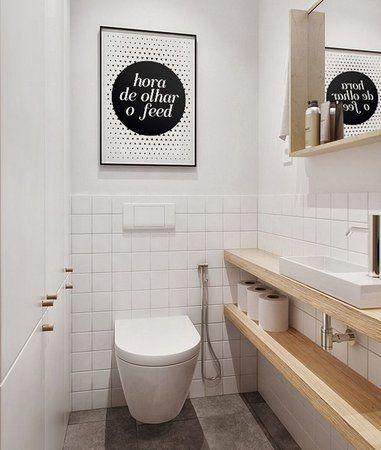 Reforma de banheiro branco