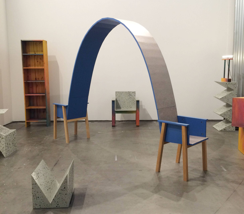 Galeria com peças de designers