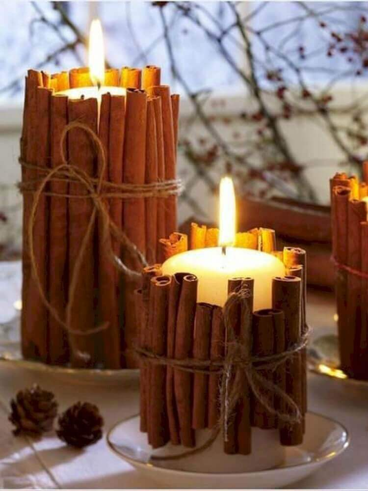Simple and beautiful idea for Christmas decoration