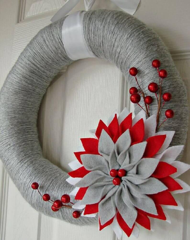 guirlanda de natal de artesanato Foto PinsDaddy