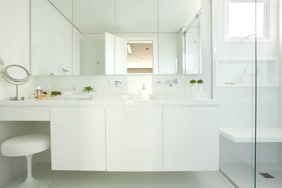 reforma de banheiro com Marcenaria